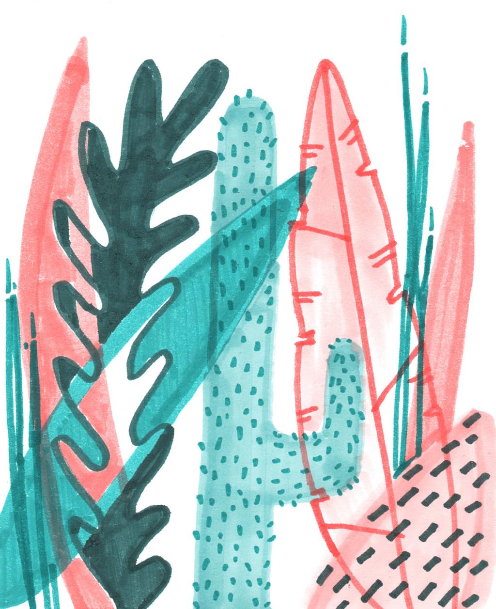 Susann Massute Mixed Illustrations